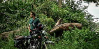 royal enfield jungle afrique