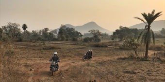 paysage campagne moto offroad