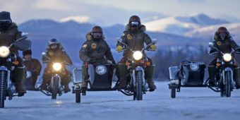 frozen ride royal enfield