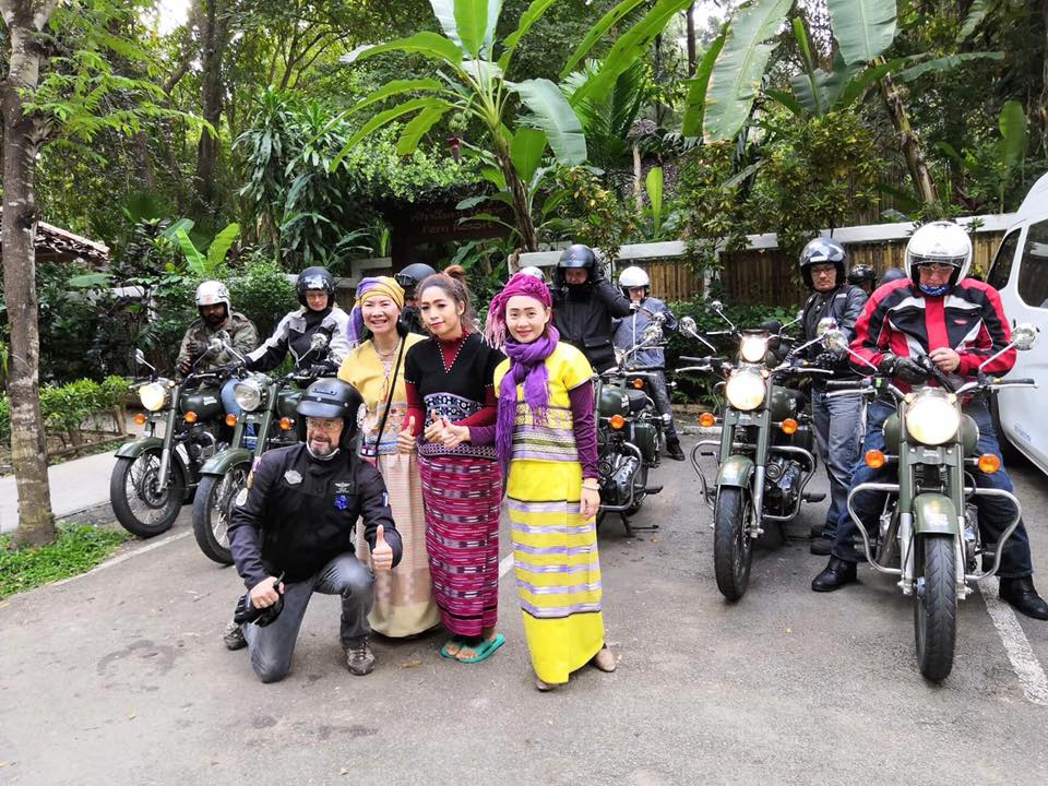 a motorcycle tour in thailand