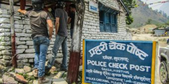 police check post nepal