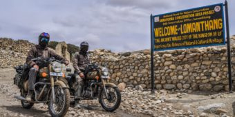 tour royal enfield au népal