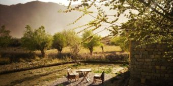 india himalaya nubra resort hotel luxury sunset mountain